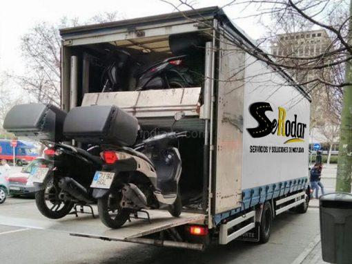 Transporte a domicilio de motocicletas